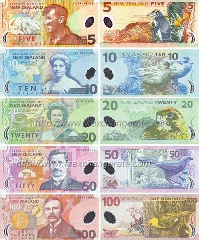 新西兰钞票上的都是谁——纸币篇